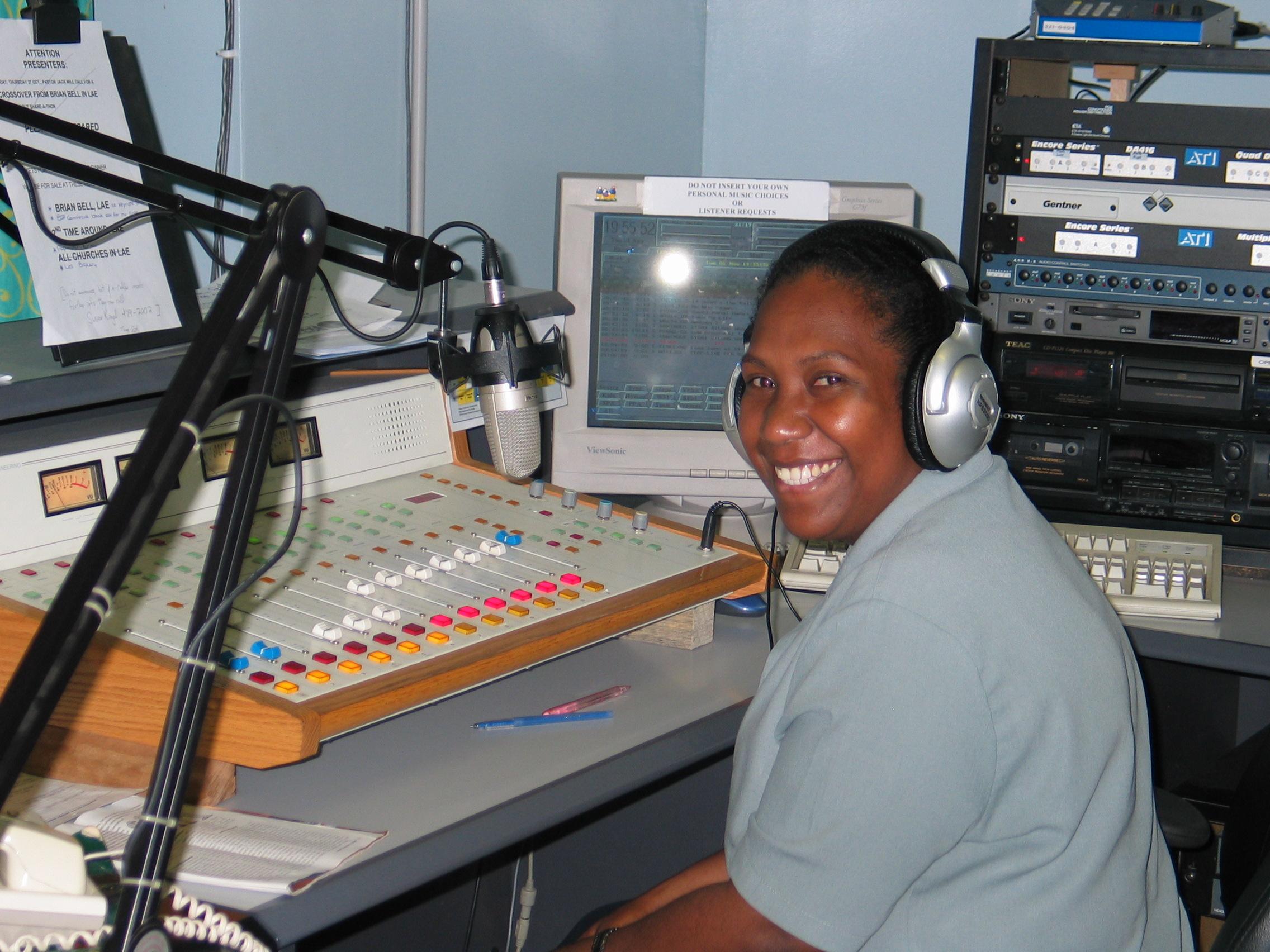 Papua New Guinea Radio Studio