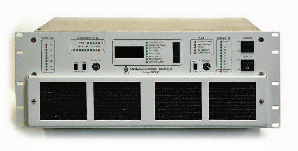 TB1000 SW transmitter