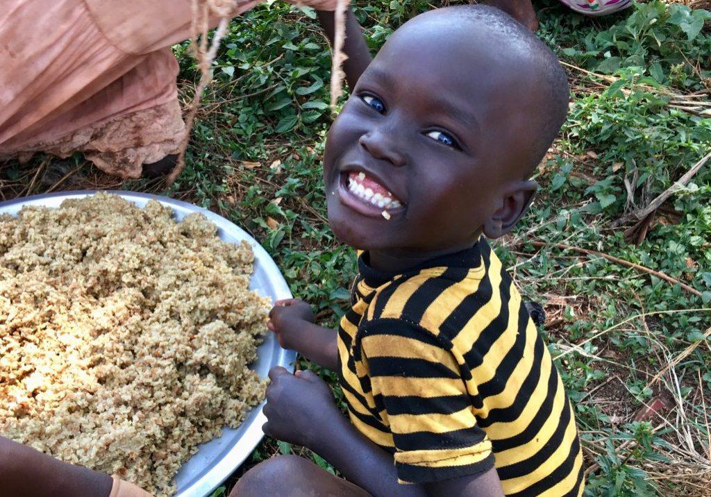 Uganda Refugee Boy